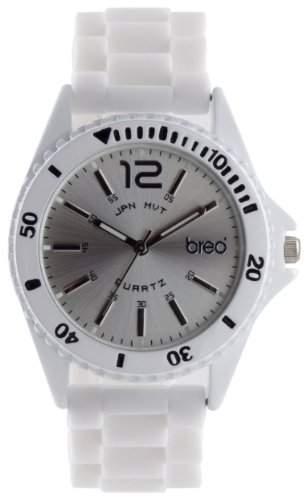 breo Unisex-Armbanduhr Arica White B-TI-AR8