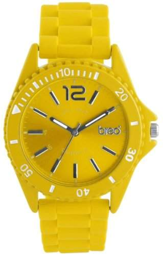 breo Unisex-Armbanduhr Arica Yellow B-TI-ARG