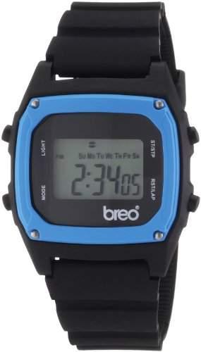"""Breo Herren-Uhr """"Binary"""" schwarz B-TI-BIN74"""