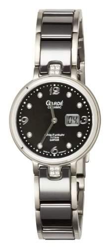 Gardé Uhren aus Ruhla Damenfunkuhr Funkuhr Keramik Titan  Saphirglas 21-6AC