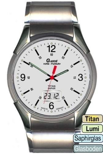Gardé Classic Titan Herren-Funkuhr 4-1BM