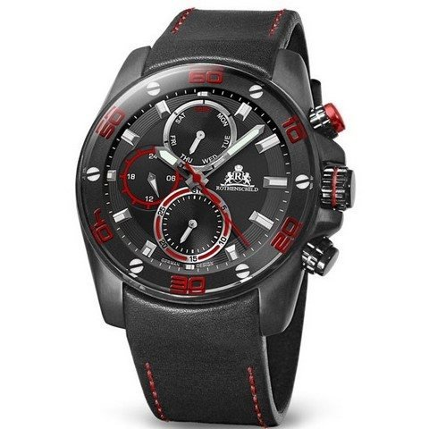 Rothenschild Abyss RS 1405 IB BKRD dangerous red black 46 mm 100M