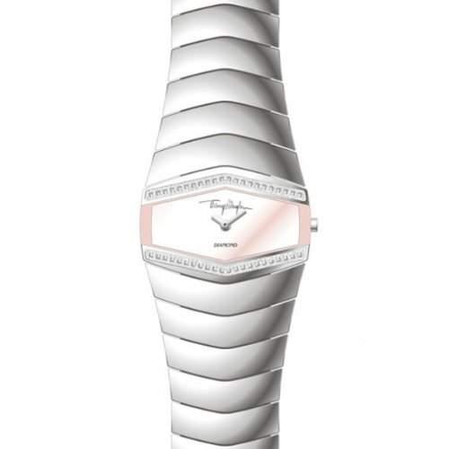 Thierry Muggler Damen-Armbanduhr Analog Quarz Edelstahl 4702401