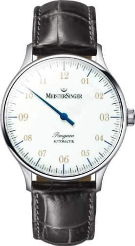 MeisterSinger Pangea PM901 Einzeiger Uhr Zeitloses Design