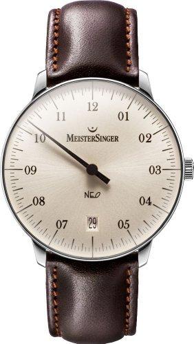 MeisterSinger Neo NE903 Einzeiger Uhr Zeitloses Design
