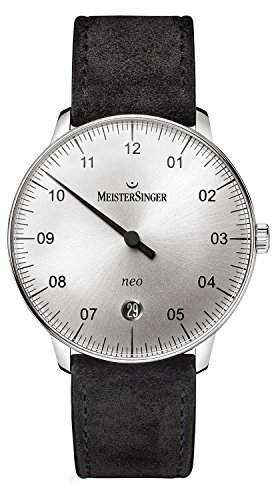 MeisterSinger Neo NE901N Einzeiger Automatikuhr Klassisch schlicht