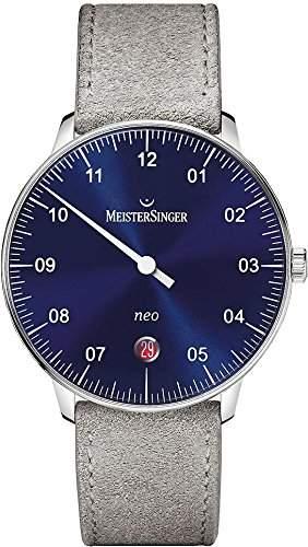 MeisterSinger Neo NE908N Einzeigeruhr Klassisch schlicht