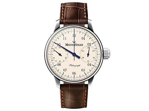 MeisterSinger Uhren Herrenuhr Einzeigeruhr Chronograph Paleograph SC103