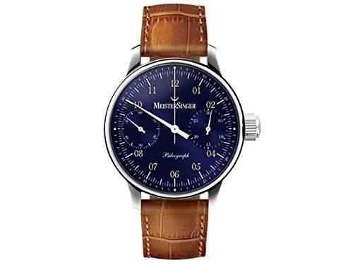 MeisterSinger Uhren Herrenuhr Einzeigeruhr Chronograph Paleograph SC108