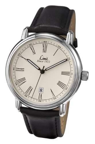 Limit Herren-Armbanduhr Analog Kunststoff Schwarz 547901