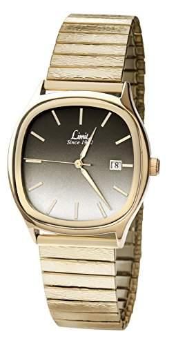 MenLimit Damen Armbanduhr Analog Edelstahl Gold 550001 Armband