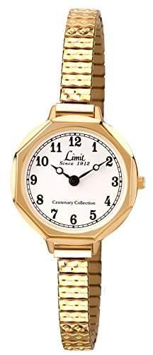 Limit Damen-Armbanduhr Centenary Collection Analog Gold 689025