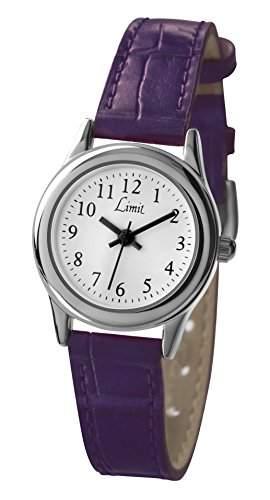 Limit - 693235 Damen-Armbanduhr Alyce Quarz analog Armband PU lila