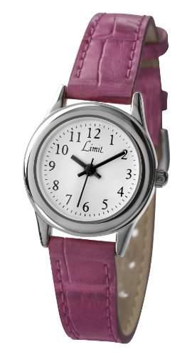 Limit Damen-Armbanduhr Analog Kunststoff rosa 693301