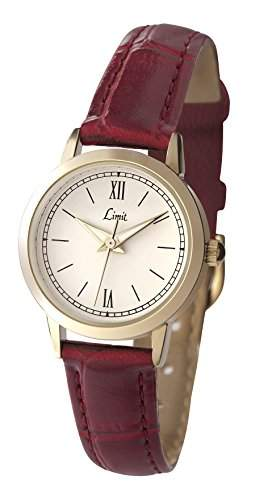 Limit - 697835 Damen-Armbanduhr-Quarz-Analog Polyurethan, Rot