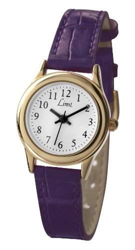 Limit - 698235 Damen-Armbanduhr Alyce Quarz analog Armband PU lila