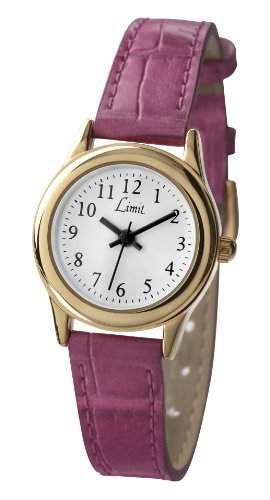 Limit - 698335 Damen-Armbanduhr Alyce Quarz analog Armband PU Leder, Rosa