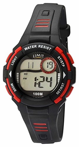 Limit Racing Digital Alarm Chronograph Schwarz Harz Gurt 5634