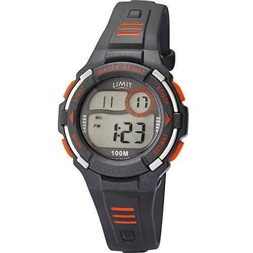 Limit Racing Digital Alarm Chronograph Grau Harz Gurt 5635
