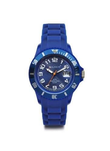 Avalanche Watch Unisex-Armbanduhr Analog Plastik blau AV-100S-BU-40
