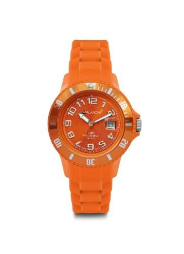 Avalanche Watch Unisex-Armbanduhr Analog Plastik orange AV-100S-OR-40