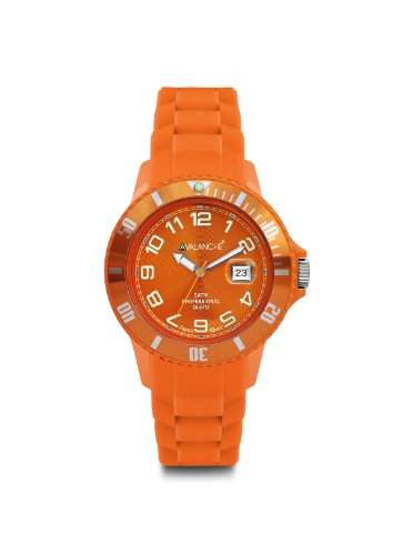 Avalanche Watch Unisex-Armbanduhr Analog Plastik orange AV-100S-OR-44