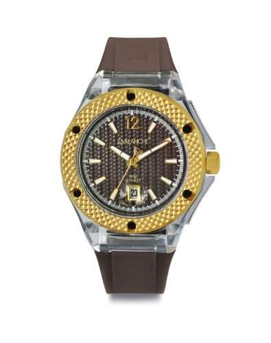 Avalanche Watch Unisex-Armbanduhr Analog Plastik braun AV-103S-CLBR