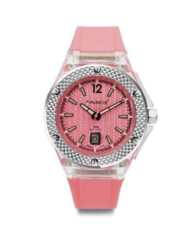 Avalanche Watch Unisex-Armbanduhr Analog Plastik rosa AV-103S-CLPK