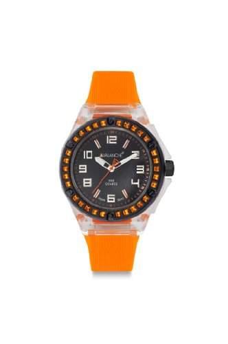 Avalanche Watch Damen-Armbanduhr Analog Plastik schwarz AV-104S-CLOR