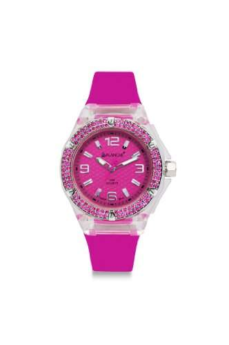 Avalanche Watch Damen-Armbanduhr Jewel Analog Silikon pink AV-105S-CLPK