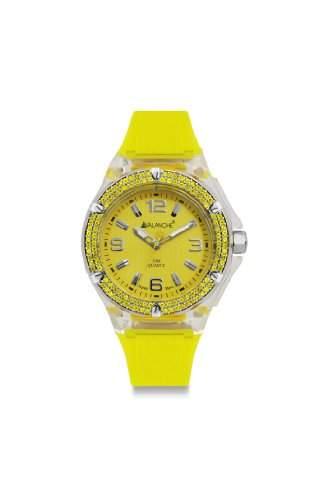 Avalanche Watch Damen-Armbanduhr Analog Plastik gelb AV-105S-CLYW