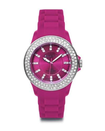 Avalanche Watch Damen-Armbanduhr Analog Plastik rosa AV-107S-PK-44
