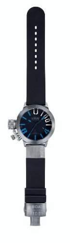U-Boat Herren-Armbanduhr Classico 47 1001 Blue Analog Automatik 6448