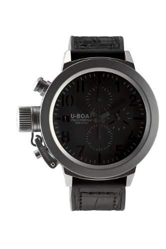 U-BOAT Herrenuhr Armbanduhr Flightdeck CAB Titanium Bezel 50 5417