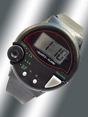 Sprechende Uhr - Blindenuhr Seniorenuhr Rentneruhr 48