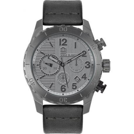 Armbanduhr Chronograph von Serge Blanco Conquete SB1141 90