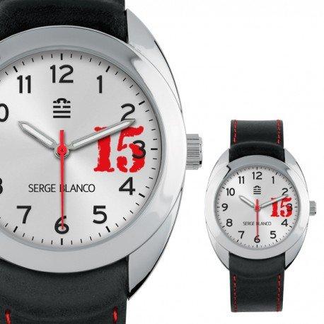 Zeigt Serge Blanco New Basic Unisex Grau SB1080 19