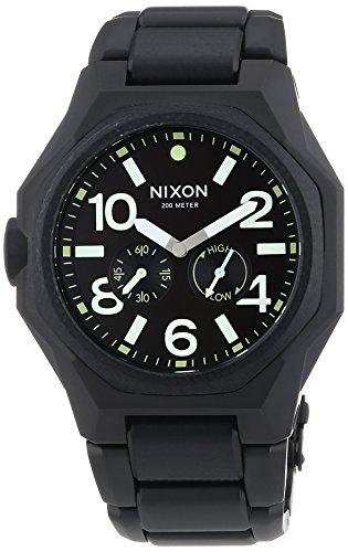 Nixon XL Analog Quarz Edelstahl A3971042 00
