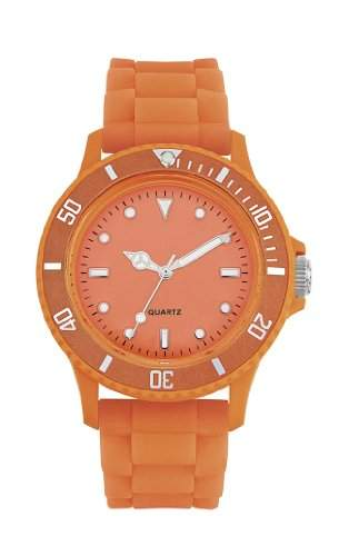 Dimo Unisex-Armbanduhr Analog orange FRORAN1