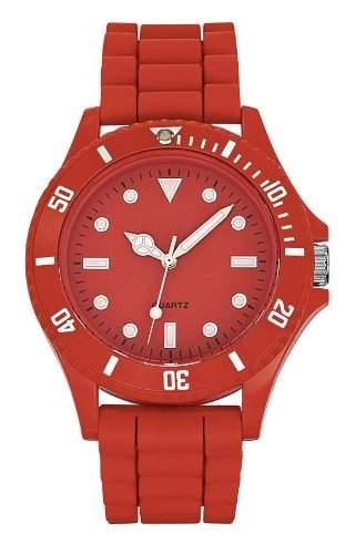 Dimo Unisex-Armbanduhr Analog rot FRROUG1