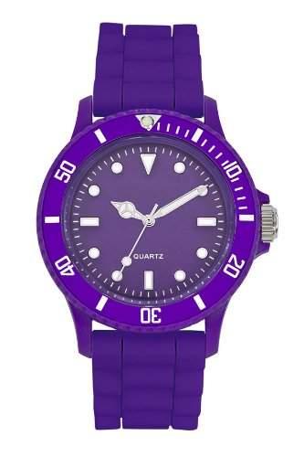 Dimo Unisex-Armbanduhr Analog violett FRVIOL1
