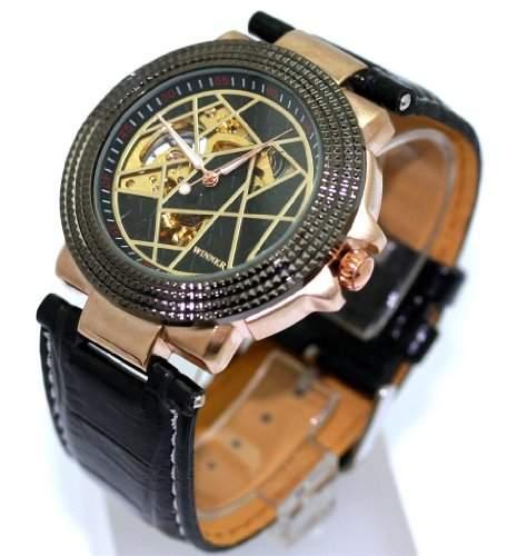 Winner Herren Designer Armbanduhr Automatik Top!