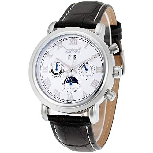 Winner Herrenuhr - Automatikuhr - Leder Armband Uhr - WM186