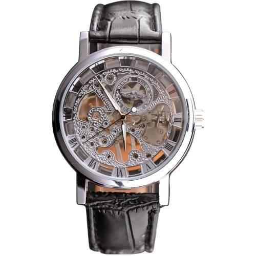 Winner Damen-Armbanduhr Analog Leder WA088