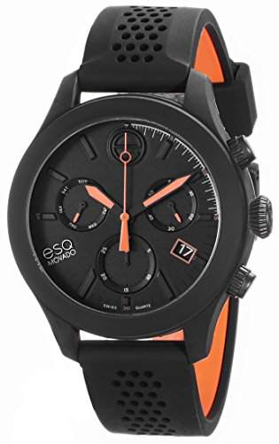 ESQ Movado Herren 07301470 One Analog Display Swiss Quartz Black Armbanduhr