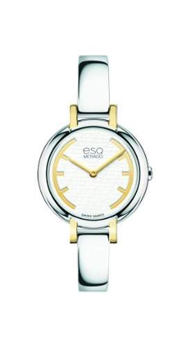 ESQ Movado Damen 07101392 esq Contempo tm Round Two-Tone Uhr