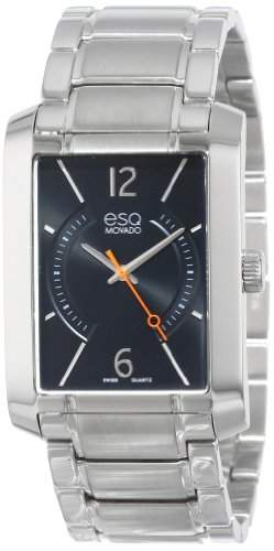 ESQ Movado Herren 07301405 esq SYNTHESIS tm Rectangular Stainless Steel Uhr