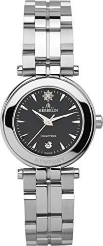 Michel Herbelin Damen-Armbanduhr 12856B14 Damen-Armband, Edelstahl, Farbe: silber