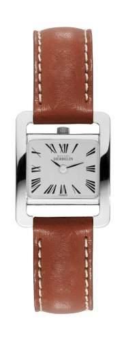 Michel Herbelin Damen-Armbanduhr Analog Quarz Leder 1703701GO