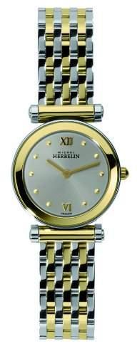 Michel Herbelin Damen-Armbanduhr Antares Analog edelstahl Mehrfarbig 17155BT12